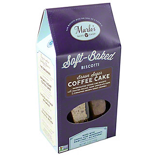 Marlos Bake Shop Soft Baked Biscotti Coffee Cake, 5 OZ