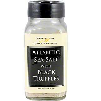 Chef Milton Black Truffle Sea Salt, 5 oz