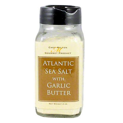 Chef Milton Garlic Butter Sea Salt, 4OZ