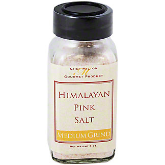 Chef Milton Himalayan Medium PinkSea Salt,6OZ