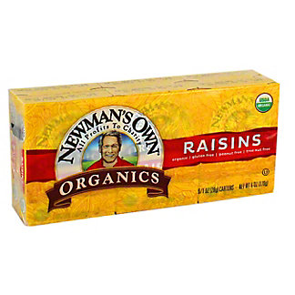 Newmans Own Organics Raisins, 6 oz