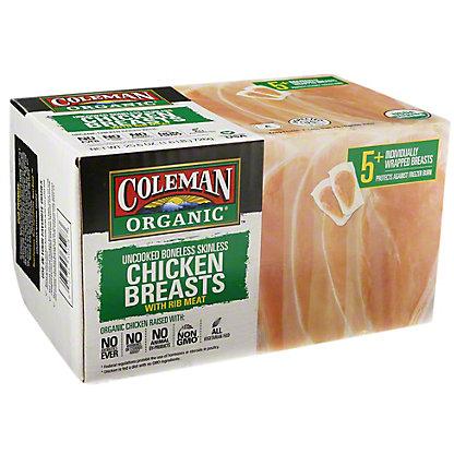 Coleman Organic Boneless Skinless Chicken Breasts,25.6 oz