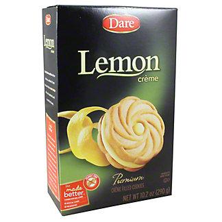 Dare Lemon Creme Cookies, 10.2 oz