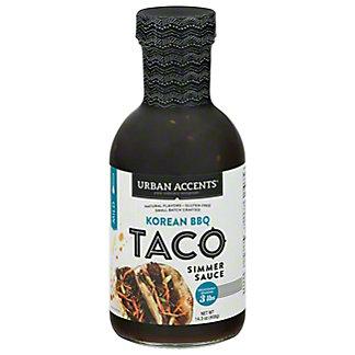 Urban Accents Korean BBQ Taco Sauce, 14.3 oz
