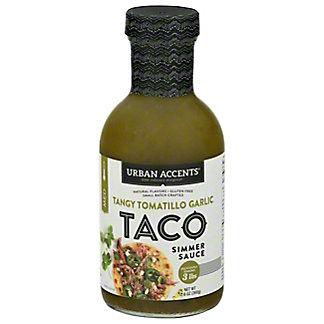 Urban Accents Tangy Tomatillo Garlic Taco Sauce, 12.60 oz