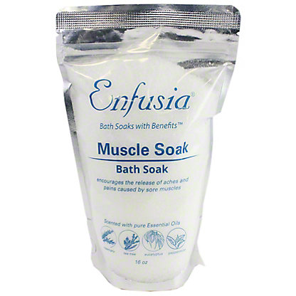 Enfusia Muscle Soak,16 OZ