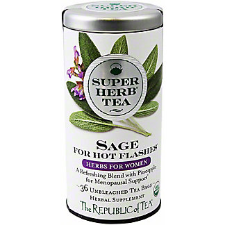The Republic of Tea Organic Sage Superherb Tea, 36 ct
