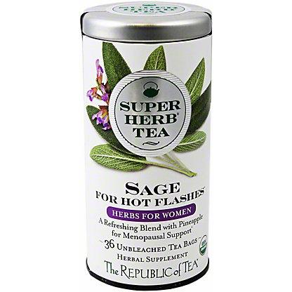 The Republic of Tea Organic Sage Superherb Tea, 36 ct