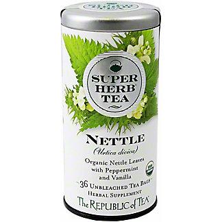 The Republic Of Tea Organic Nettle Superherb Tea, 36 ct