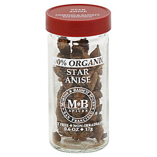 Morton & Bassett Organic Star Anise, 0.60 oz