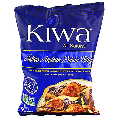 Kiwa Kiwa Native Andean Potato Chips, 4OZ