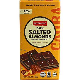 Alter Eco Organic Dark Salted Almond Bar,2.8 OZ