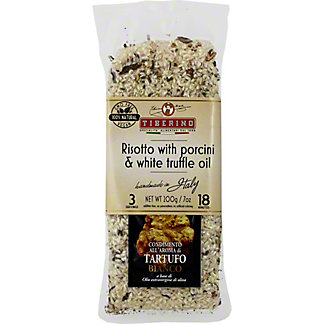 Tiberino Risotto Carnaroli With Porcini Mushroom and Truffle Oil, 7 oz