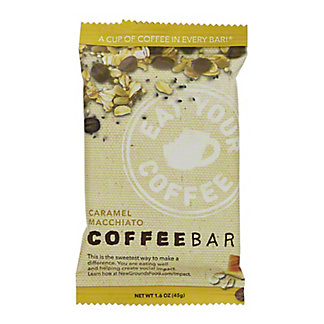 Coffee Bar Salted Caramel Macchiato Coffee Bar, 1.6 oz