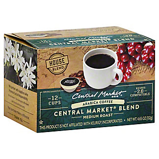 Central Market Central Market Blend Single Serve Coffee Cups, 12 ct