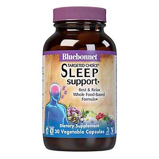 Bluebonnet Targeted Choice Sleep Support Veg Capsules, 30 ct