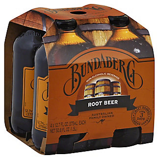 Bundaberg Root Beer 12.7 oz Bottles, 4 pk