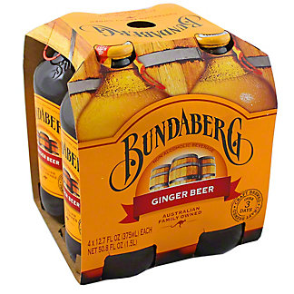 Bundaberg Ginger Beer 4 Pack,4.00 ea