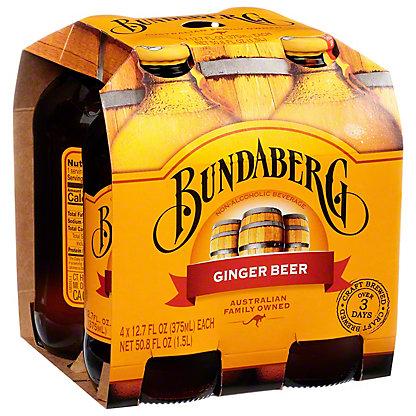 Bundaberg Ginger Beer 4 Pack,4.00 ea