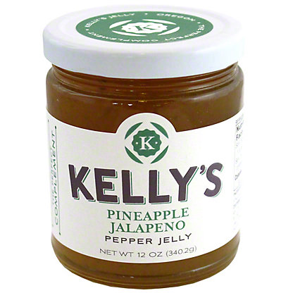 Kelly's Jellies Pineapple Jalapeno, 12 oz