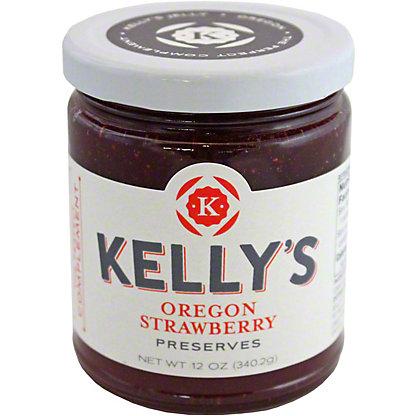 Kelly's Jellies Oregano Strawberry, 12 oz