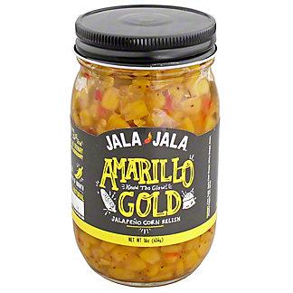 Jala Jala Amarillo Gold Jalapeno Corn Relish, 16OZ