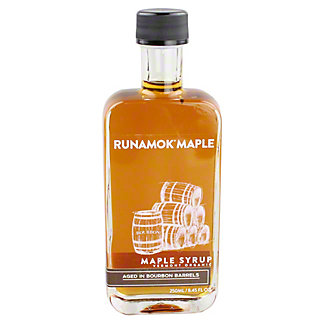 Runamok Bourbon Barrel Aged Maple Syrup,8.45OZ