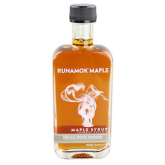Runamok Smoked Pecan Maple Syrup, 8.45OZ