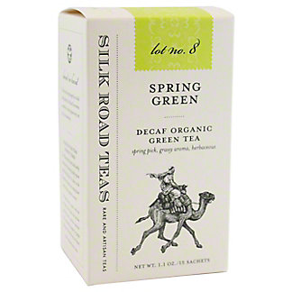 Silk Road Tea Organic Spring Green, 15 ct