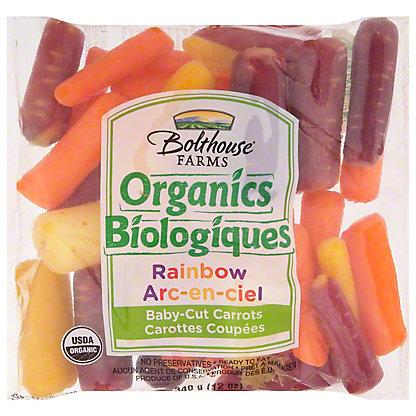 Bolthouse Farms Organic Rainbow Mini Carrots, 12 oz