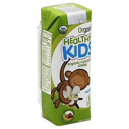 Orgain Kids Vanilla Nutritional Shake, 8.25 oz