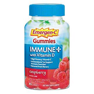 Emergen-C Immune+ Raspberry Gummies, 45 ct
