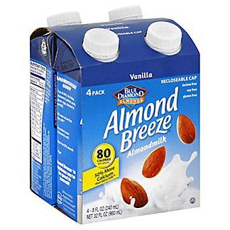 Blue Diamond Almond Breeze Blue Diamond Almond Milk Van 4 Pack,32 oz.