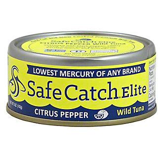 Safe Catch Elite Citrus Pepper Tuna,5OZ