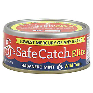 Safe Catch Elite Habanero Mint Tuna, 5OZ
