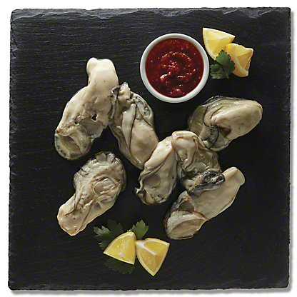 Hilton's Pacific Oysters Shucked, 10 oz