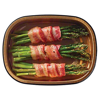 H-E-B Meal Simple Bacon Wrapped Asparagus, 3 ct