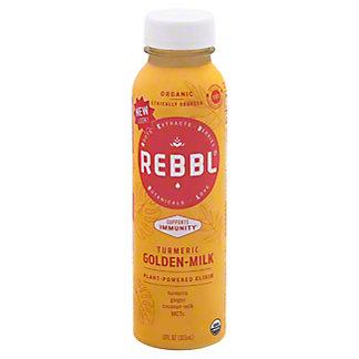 Rebbl Organic Elixir Tumeric Golden Milk, 12 oz