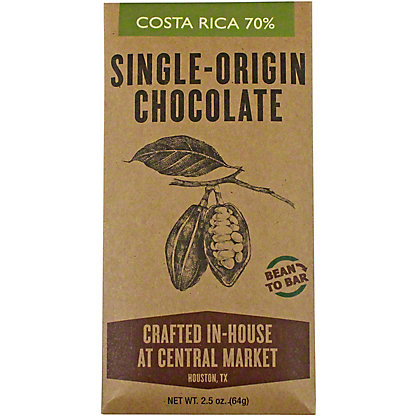 Central Market Bean To Bar Costa Rica 70%, 2.5 oz