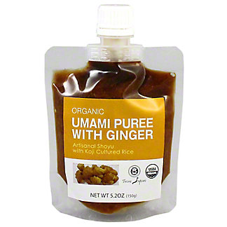 Muso Umami Puree With Ginger, 5.2 oz