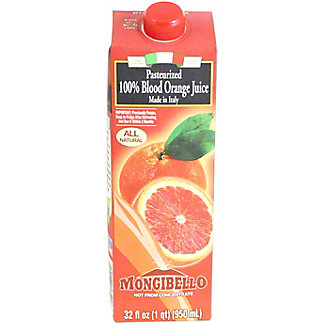 Aliseo Mongibello Blood Orange Juice, 1 L