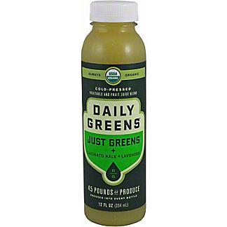Daily Greens Just Veggies Just Greens, 12 oz