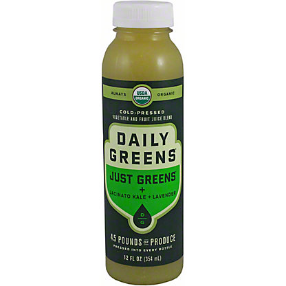 Daily Greens Just Veggies Just Greens, 12 oz