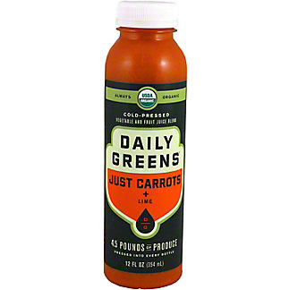 Daily Greens Just Veggies Just Carrot, 12 oz