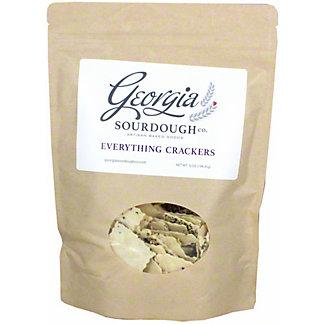 Georgia Sourdough Everything Crackers, 6 oz