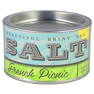 Beautiful Briny Sea French Picnic Sea Salt, 8 oz