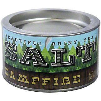 Beautiful Briny Sea Campfire Sea Salt, 6 oz