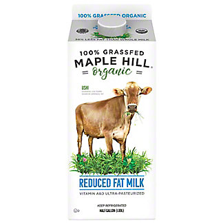 Maple Hill Creamery 100% Grassfed 2% Milk, 64 oz