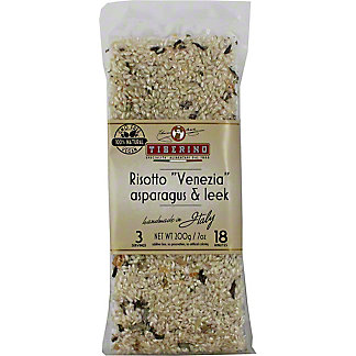 Tiberino Risotto Carnaroli With Asparagus and Leek, 7 oz