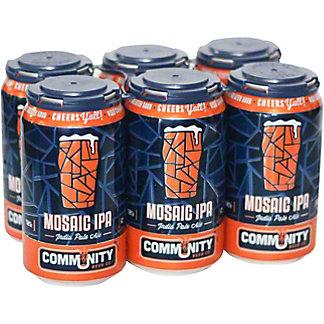 Community Beer Co Mosaic IPA, 6 pk